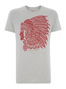 Regular Fit Headdress Graphic T Shirt