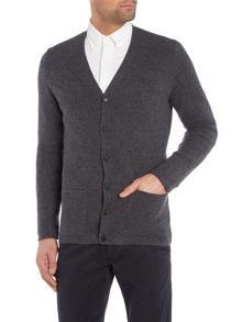 Pure Wool Knitted Cardigan