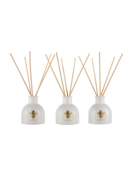 Shabby Chic Set of 3 Scented Reed Diffusers