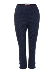 Dickins & Jones Spot Print Trouser