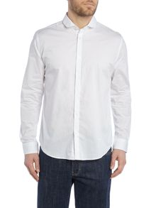 Long Sleeve Penny Collar Shirt
