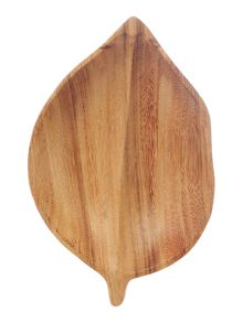 Linea Amazon Small Acacia Leaf Tray