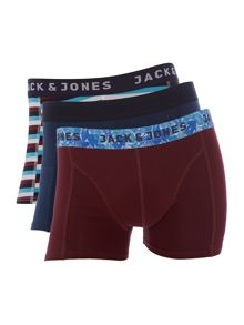 Jack & Jones 3 pack JJmixes Trunks
