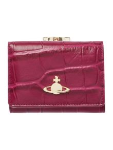 Vivienne Westwood Beaufort pink small coin purse