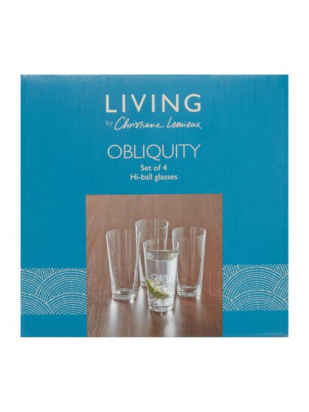 Living by Christiane Lemieux Obliquity Hiball Set Of 4