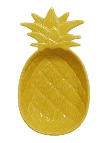 Linea Large Yellow Pineapple Bowl