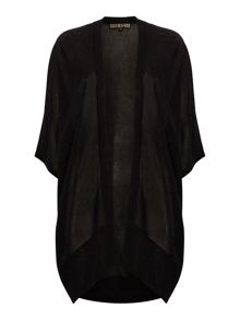 Biba Longline throw on sparkle cardigan