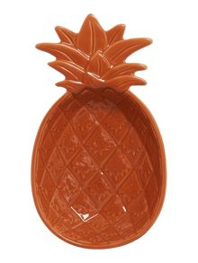 Linea Medium Orange Pineapple Bowl