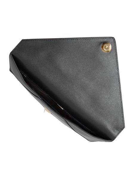 Vivienne Westwood Pouch black envelope clutch bag