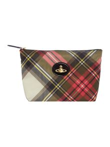 Vivienne Westwood Charms multi tartan coloured cos bag