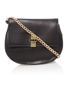 Fiorelli Huxley small black chain cross body bag