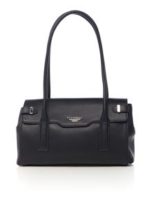 Fletcher black medium tote bag