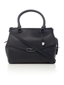 Mia black medium grab tote bag