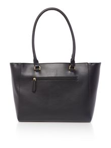 Fiorelli Avery black medium shoulder tote bag