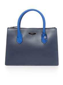 Fiorelli Aspen blue medium grab tote bag