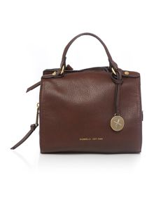 Hayden brown medium tote bag