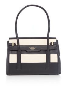 Fiorelli Deacon monochrome medium flap over tote