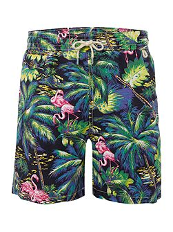 Ralph lauren flamingo swim shorts