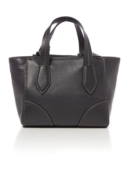 Coccinelle Black mini tote bag