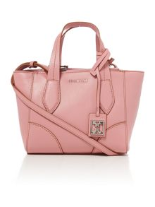 Light pink mini tote bag