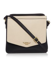 Fiorelli Taylor monochrome medium flapover cross body bag