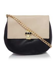 Huxley monochrome small chain cross body