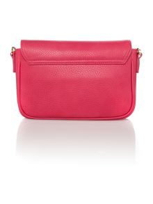 Vivienne Westwood Bow pink flap over shoulder bag
