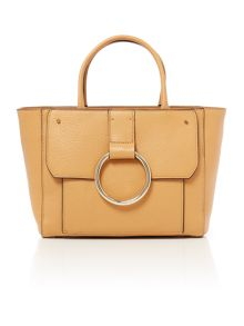 Coccinelle Ring tan tote bag