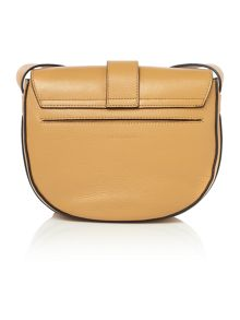 Coccinelle Ring tan small cross body bag