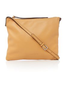 Coccinelle Mila tan medium cross body bag
