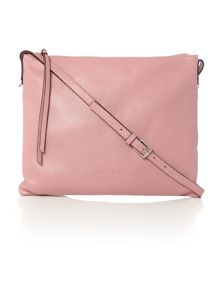 Mila light pink medium cross body bag