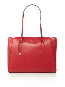 Fiorelli Hennessy red large shoulder tote bag