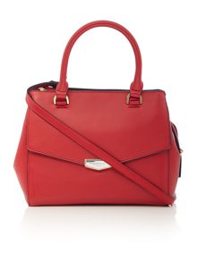 Fiorelli Mia red medium grab tote bag