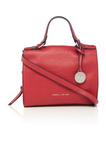 Hayden red medium tote bag