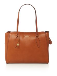 Fiorelli Hennessy tan large shoulder tote bag