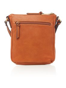 Weber tan medium cross body bag
