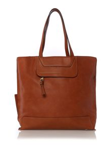 Tristen tan medium tote bag