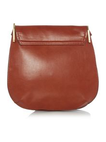 Fiorelli Nikita tan medium flap over cross body bag