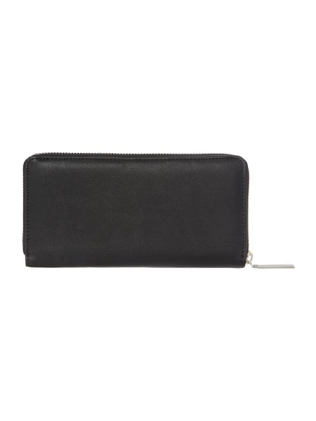 Fiorelli Perrie black medium zip around purse