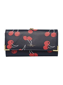 Audrey multi coloured medium frame purse