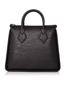 Vivienne Westwood Melomania black medium tote bag