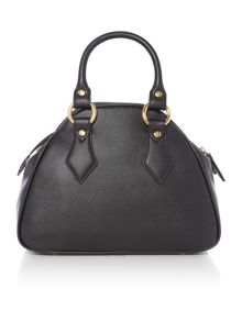 Vivienne Westwood Divina black small dome bag