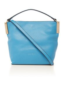 Coccinelle Blue mini hobo bag