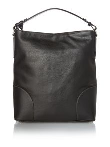 Brad black hobo bag