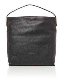 Sophie black hobo bag