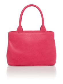 Vivienne Westwood Bow small pink grab tote bag