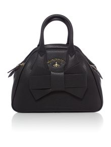 Vivienne Westwood Bow black grab dome bag