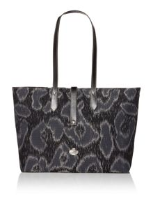 Toulon grey large tote bag