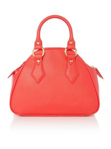 Divina red small dome bag