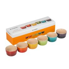 Le Creuset Rainbow ramekins set of 6